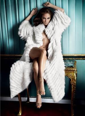 JLO Fur Coat