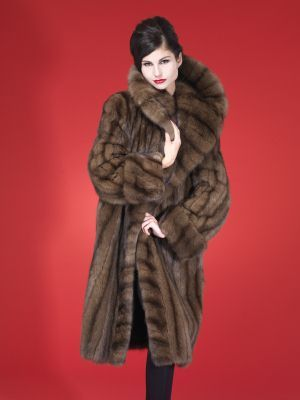 Mink Fur Jackets Lynx Fur Coat Sable Furs Coats
