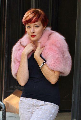 Edgy & Colorful Fur Boleros Fur Vests at Marc Kaufman Furs NYC