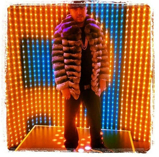 French Montana Marc Kaufman Furs NY