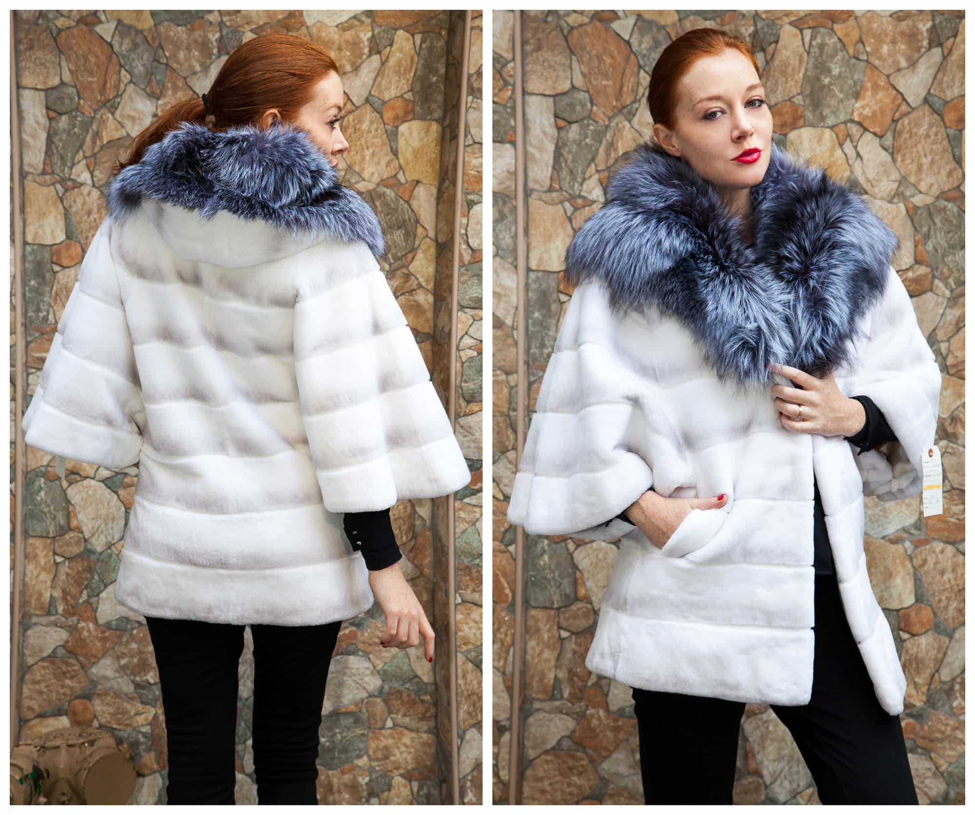 White Fur: The Epitome of Chic Modernity