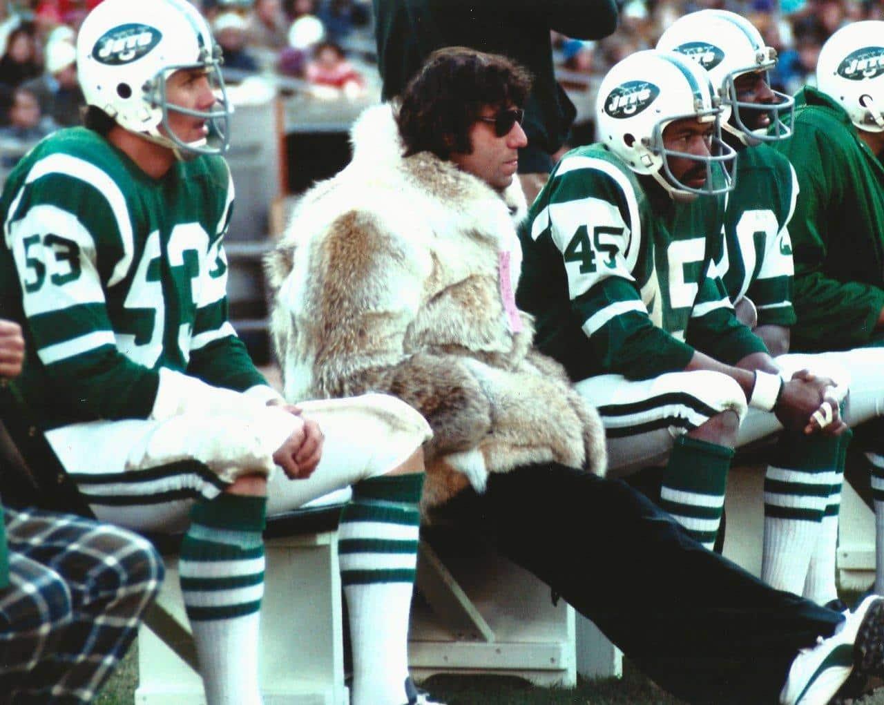 Broadway Joe Namath's Fur Coat is the Talk of the Town! | MARC ...