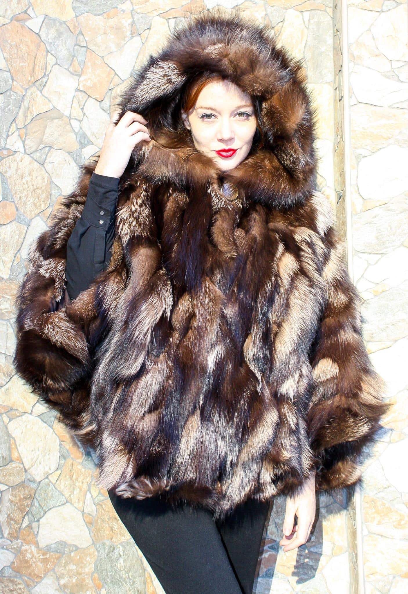 Animal Fur Coats: Much Warmer than Synthetic Fibers