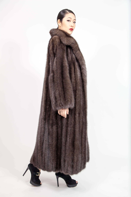 Marc Kaufman Furs 01-30-15 Full Length Russian Sable Fur Stroller-2