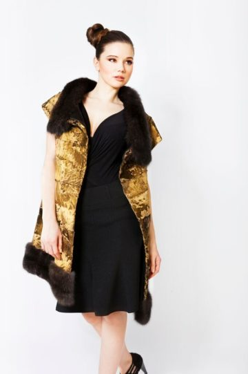 24 Carat Gold Mink Fur Jackets and Coats Marc Kaufman Furs