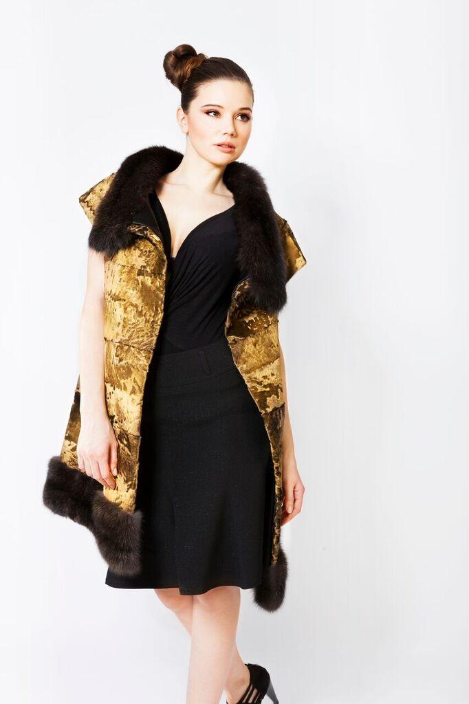 24 Carat Gold Mink Fur Jackets and Coats Marc Kaufman Furs
