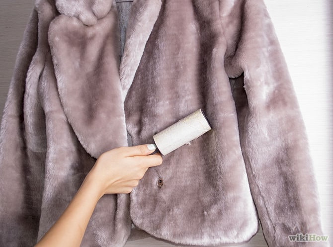 Как почистить не натуральный мех в домашних условиях