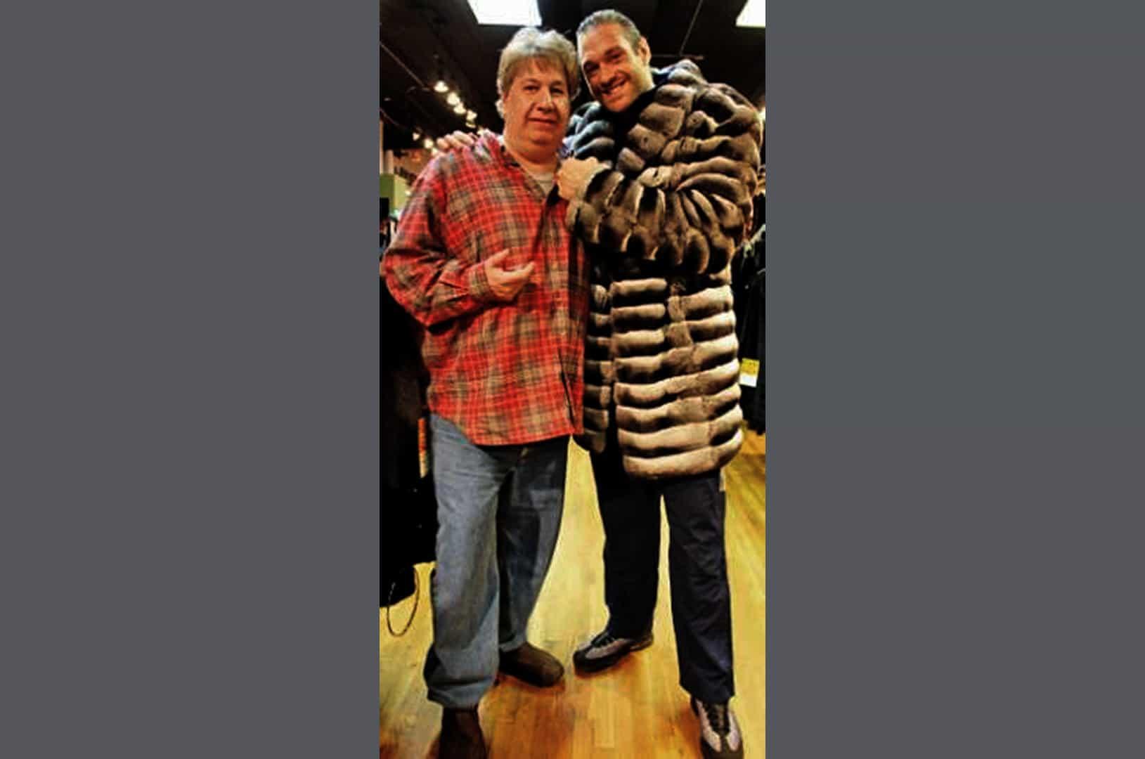 Celebrity Fashion in Fur Coats