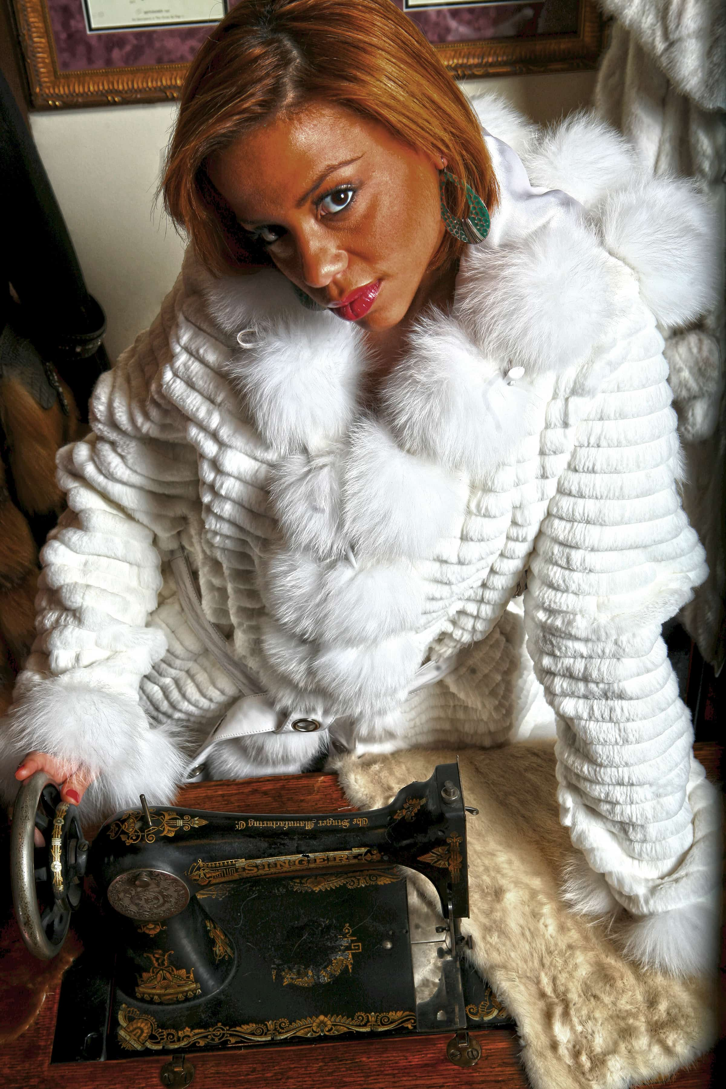 Fashion fur statement