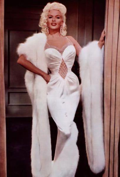 Jayne Mansfield in classic fur