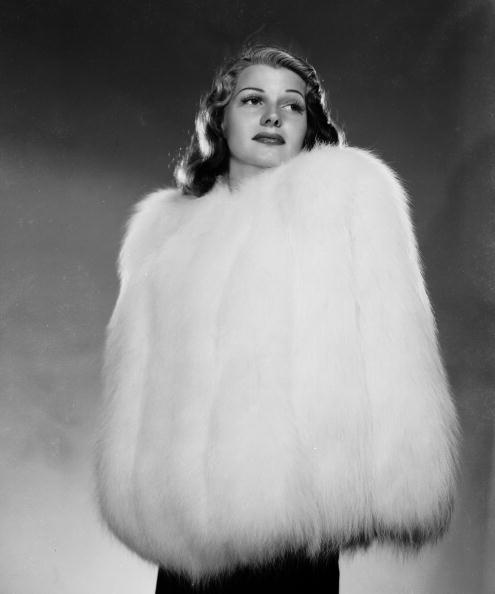 Rita Hayworth in Fur