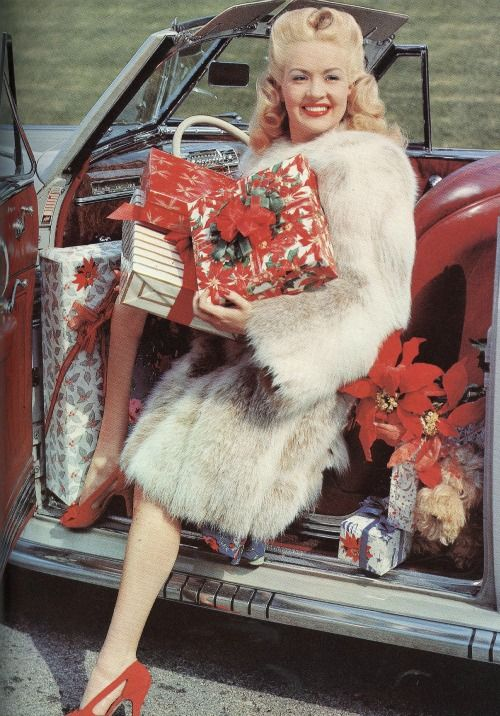 Betty Grable classic furs