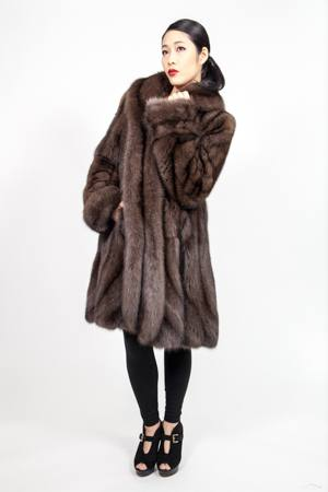 Marc Kaufman Furs presents a Russian Sable Fur Princess Swing Stroller from Marc Kaufman Furs New York City