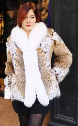Lynx coats | MARC KAUFMAN FURS