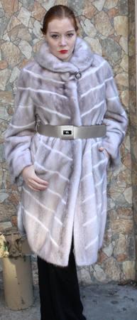 Amazing Rovalia Mink Fur Stroller Belt