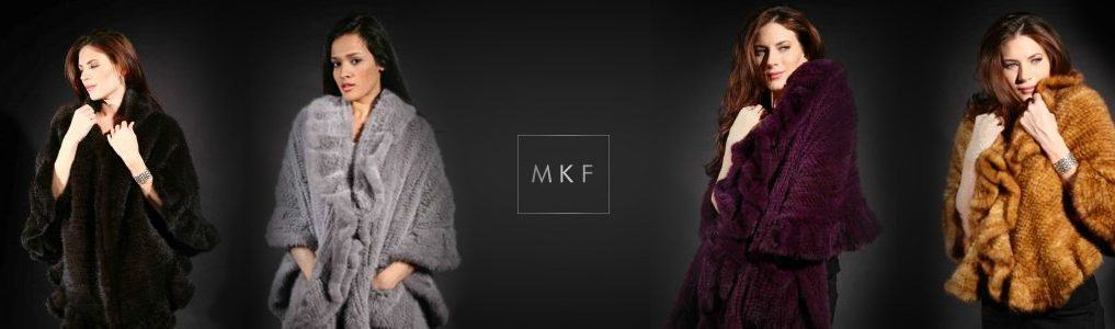 Knit Mink Fur Capes