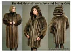 thumb_10 Sheared Beaver hooded coat