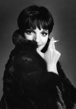 Liza Minelli Fabulous Blackglama Mink Coat Image