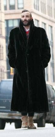 Blackglama Mens Full Length mink coat