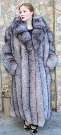 Full Length Crystal Fox Fur Coat 2525MARC KAUFMAN FURS | MARC ...