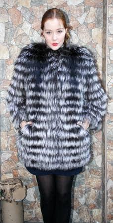 Amazing Designer Fashionable Silver Fox Stroller Feather Weight