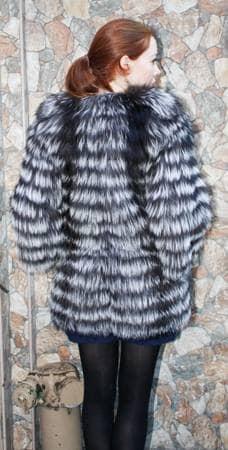 Designer Fashionable Silver Fox Stroller Feather Weight