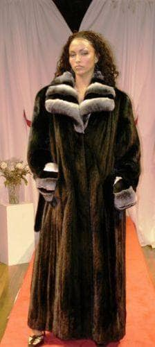 Marc Kaufman Furs Presents a blackglama mink fur coat with chinchilla fur wing collar and mink belt from Marc Kaufman Furs New York,Fur coats in Argentina, fur coats in Chile, fur coats in Venezuela, fur coats in Australia, fur coats in Belgium,fur coats in Netherlands, fur coats in Norway,fur coats in Sweden,fur coats in Dubais,fur coats in Egypt,fur coats in Egypt,fur coats in Kuwait, fur coats in South Africa,fur coats in Tunisia,fur coats in the Falklands