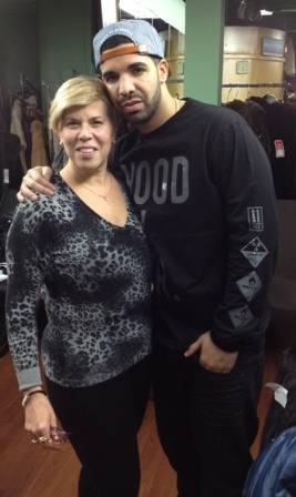 Rapper Drake With Jody Marc Kaufman Furs Image