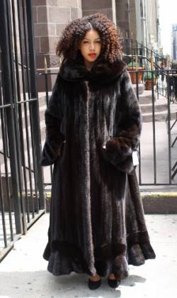 The Wondrous World of Fur Coats For the Plus Size WomanMARC ...