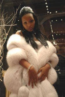Fabulous White Fox Fur Cape