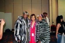 Money Green Chinchilla Jacket Mens Fur Image