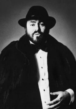 Luciano Pavarotti Blackglama san fransisco detroit chicago cleveland