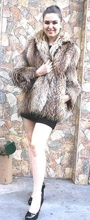 Finnish Raccoon Fur Jacket 88822 Image