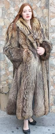 Finnish Raccoon Fur Coat From Marc Kaufman Furs New York City