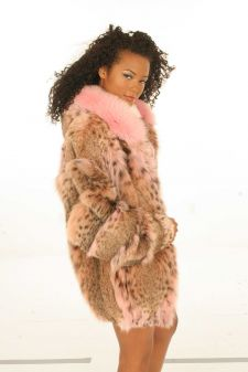 Marc Kaufman Furs presents a Pink Lynx Jacket With Pink Fox Trim From Marc Kaufman Furs New York City. Fur coats in Baltimore, fur coats in Chicago, fur coats in Detroit, fur coats in Los Angeles, fur coats in Detroit, fur coats in orange county, fur coats in Atlanta, fur coats in Denver, fur coats in Dallas, fur coats in Seattle, fur coats in Portland, fur coats in Santiago, fur coats in Buenos Aires, fur coats in Caracas