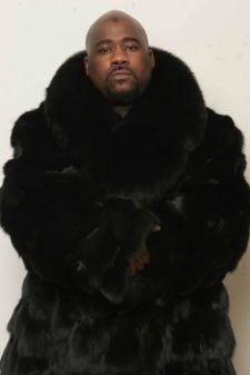 Zodiac Black Fox Mens Fur Jacket Image