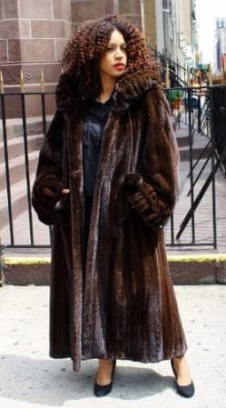 Custom Design Exclusive Plus Size and Tall Fur Coats Fur Jackets