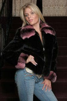 Marc Kaufman Furs Presents a ranch mink fur jacket with pink chinchilla fur collar from Marc Kaufman Furs New York,Fur coats in Baltimore, fur coats in Chicago, fur coats in Detroit, fur coats in Los Angeles, fur coats in Detroit, fur coats in orange county, fur coats in Atlanta, fur coats in Denver, fur coats in Dallas, fur coats in Seattle, fur coats in Portland, fur coats in Santiago, fur coats in Portugal, fur coats in Madrid