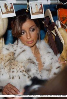 Beautiful Mya Cat Lynx Fur Jacket Image