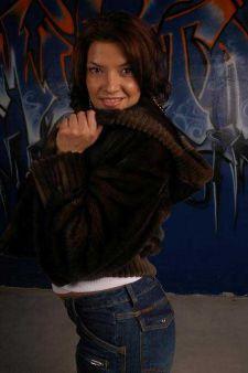 Kaufman Furs dj lazy k Demi Mink Fur Jacket Image