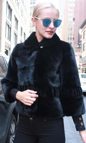 Marc Kaufman Furs Presents a ranch sheared mink fur jacket with sheared trim mink fur pleated sleeves from Marc Kaufman Furs New York,Argentina,United Kingdom,Austria,Denmark,Norway,Australia,Finland,Saudi Arabia,Oman,Kuwait,Jordan,Egypt
