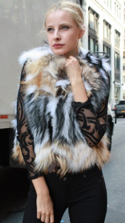 Marc Kaufman Furs Presents a fox fur vest from Marc Kaufman Furs New York,Argentina,United Kingdom,Austria,Denmark,Norway,Australia,Finland,Saudi Arabia,Oman,Kuwait,Jordan,Egypt