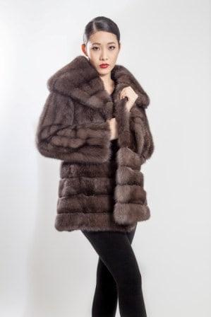 Russsian Sable Fur Stroller