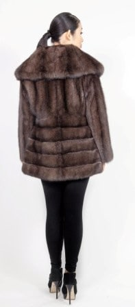 Amazing Russian Sable Fur Stroller Directional Made USA