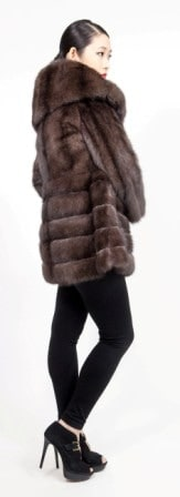 Amazing Russian Sable Fur Stroller Directional