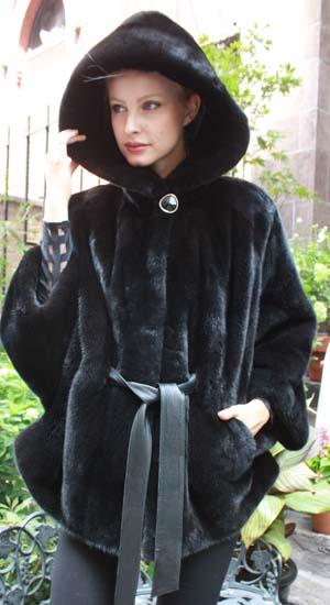 Marc Kaufman Furs Presents a blackglama ranch mink fur poncho hood from Marc Kaufman Furs New York,Argentina,United Kingdom,Austria,Denmark,Norway,Australia,Finland,Saudi Arabia,Oman,Kuwait,Jordan,Egypt