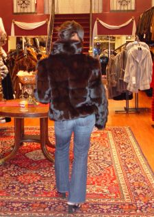 Marc Kaufman Furs presents a brown fox fur diamond cut jacket from Marc Kaufman Furs New York,Fur coats in Baltimore, fur coats in Chicago, fur coats in Detroit, fur coats in Los Angeles, fur coats in Detroit, fur coats in orange county, fur coats in Atlanta, fur coats in Denver, fur coats in Dallas, fur coats in Seattle, fur coats in Portland, fur coats in Santiago, fur coats in Portugal, fur coats in Madrid