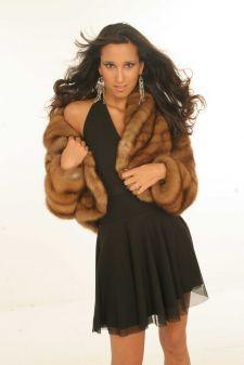 Canadian Golden Sable Fur Jacket