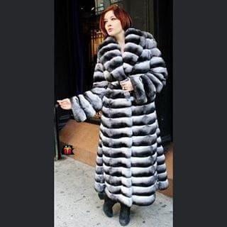 Repair Chinchilla Fur Coat Ripped and Torn