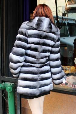 Marc Kaufman Furs presents a chinchilla fur stroller with shawl collar from Marc Kaufman Furs New York,Fur coats in Argentina, fur coats in Chile, fur coats in Venezuela, fur coats in Australia, fur coats in Belgium,fur coats in Netherlands, fur coats in Norway,fur coats in Sweden,fur coats in Dubais,fur coats in Egypt,fur coats in Egypt,fur coats in Kuwait, fur coats in South Africa,fur coats in Tunisia,fur coats in the Falklands